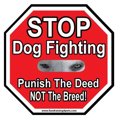 Stop Fighting Punish Breed Magnet