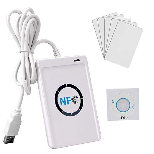 OBO HANDS NFC ACR122U RFID Lector y Escritor Inteligente/USB sin ...