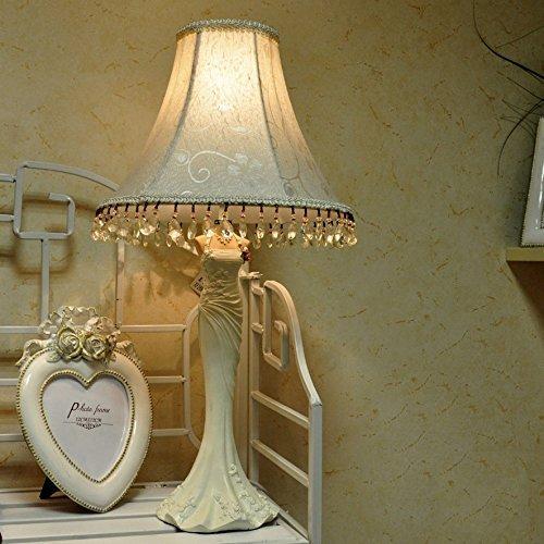 GBT Kreative Hochzeit Harz Tischlampe Bett Wohnzimmer Wohnzimmer Wohnzimmer Wohnzimmer Schlafzimmer Den Lampe,2-Tasten-Schalter B076KD8NFZ | Abgabepreis  c56527