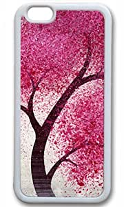 Beautiful Pink Tree Easter Thanksgiving Masterpiece Limited Design tpu white Case for iphone 6 by Cases & Mousepads