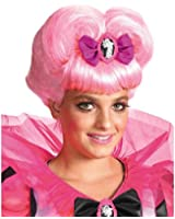 Decayed Couture Pink Heart Wig, Pink, One Size Child