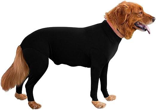 Onetek Postoperative Protection Tutina per Cani a Maniche Lunghe Alternativa al Collo Elettrico per rigenerazione
