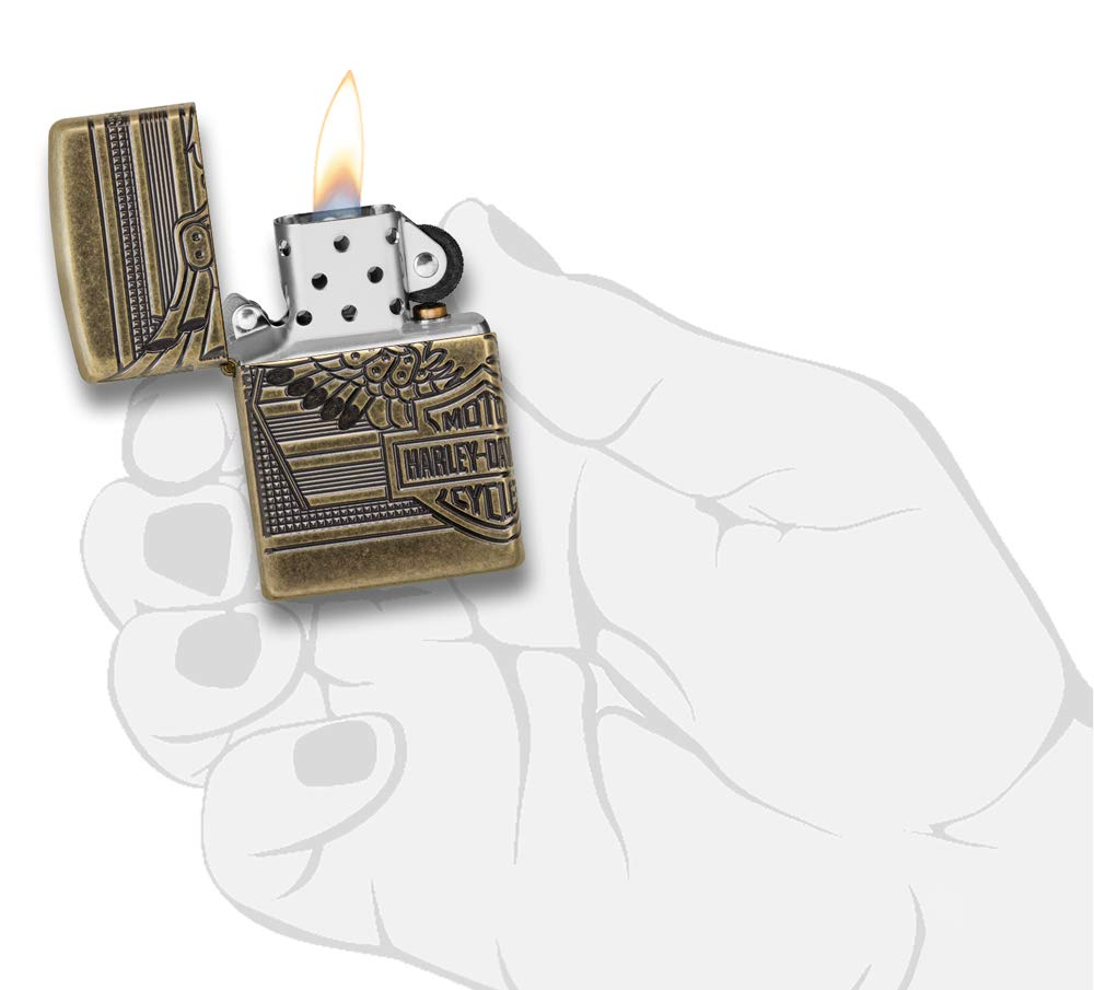 Zippo Harley-Davidson 2019 Collectible Pocket Lighter by Zippo (Image #5)