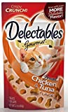 Delectables Gourmet Crunchy Cat Treats - Braised Chicken & Tuna