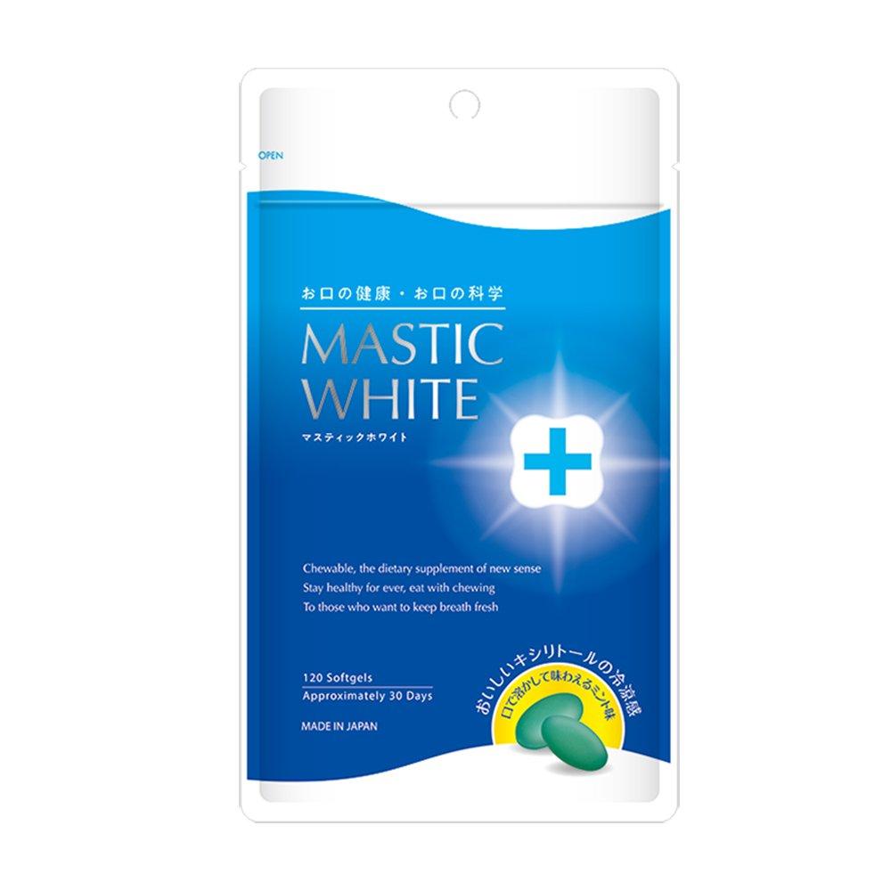 マスティックホワイト(1袋)120粒入約30日分 B07DK7DTHY