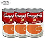 Condensed Tomato Soup, 284ml (Pack of 3) by Campbell's