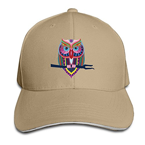Price comparison product image Tribal Cartoon Animal Eagle Snapback Sandwich Baseball Unisex Hat Natural
