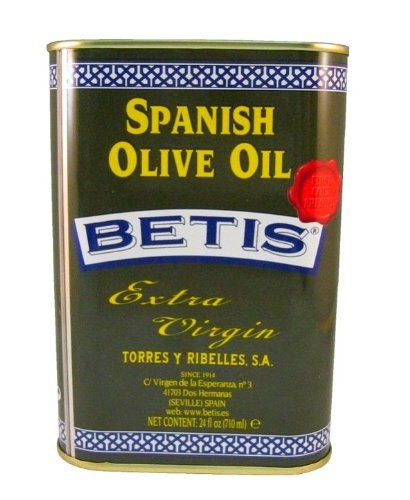 All Natural 100% Spanish Extra Virgin Olive Oil Betis 24 Oz