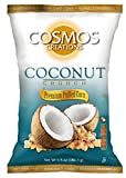 Cosmos Creations Coconut Crunch Premium Puffed Corn 6.5 oz bag, case of 10