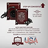 ACUPWR AU-750 750-Watt 110-120 Volts to 220-240 Volts Step Up Voltage Transformer/Converter Ideal for DeLonghi slow cooker, small KitchenAid mixers, small GE window AC, Bionaire humidifiers, Miele vacuum, Sunbeam electric blankets