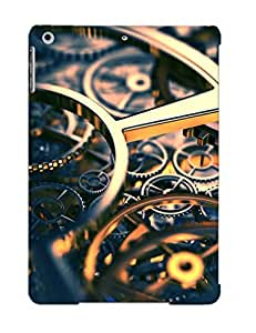 Defender Case For Ipad Air, Steampunk Mechanical Gears Reflection Pattern, Nice Case For Lover's Gift