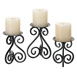 Stand Candle Holders, Iron Standing Candle Stands