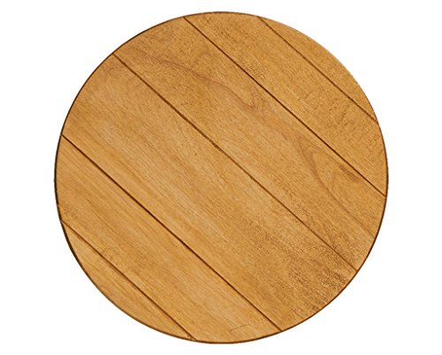"J.K. Adams Round Lazy Susan with Artisan Finish, 18"", Maple made in New England"