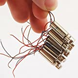 NW Powerful 10pcs 6x14MM Micro Vibration Motor 1.5V-4.5V 0.195A 19000RPM Strong Vibration