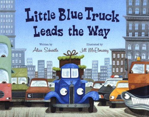 (Little Blue Truck Leads the Way)