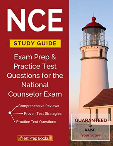 NCE Study Guide: Exam Prep & Practice Test Questions for the National Counselor Exam