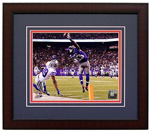 New York Giants Odell Beckham Jr. Makes The Catch of a Lifetime! Framed 8x10 Photo. (Horizontal)