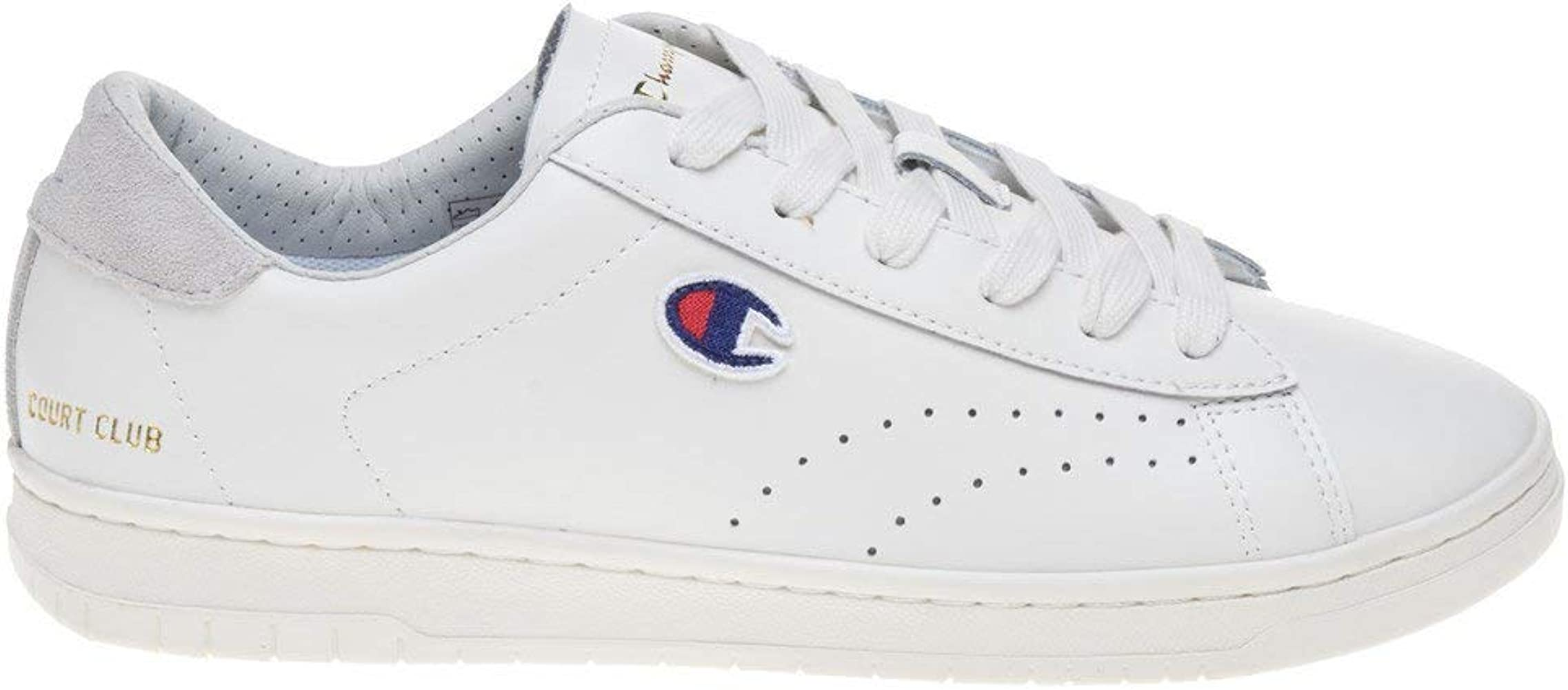 Champion Court Club Mens Sneakers White