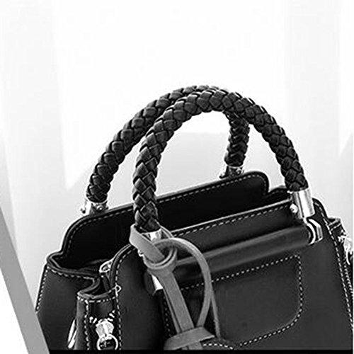 Bags Bag Women Shopping Shoulder Bag Tote Handbags Leather Black Bags Women Fashion Clutches STxzYPz