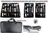ProRider USA Horse Farrier Tool Kit Grooming Hoof Bot Knife Shoe Puller Nipper Rasp 984109