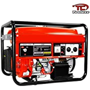 6.5HP 3500W Portable Generator W/EPA Approved Gas Engine Electric Start
