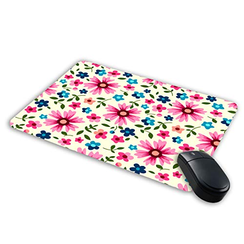 Mall at Door Floral Pattern Mousepad| Designer Mousepad | Printed