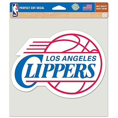 Los Angeles Clippers Merchandise (NBA Los Angeles Clippers Die-Cut Color Decal, 8