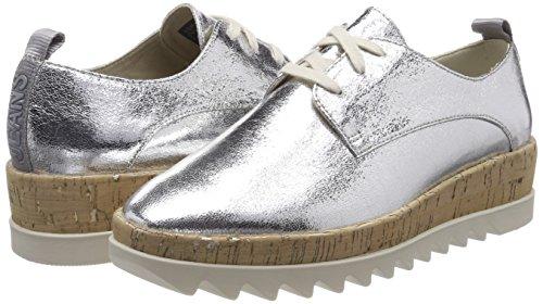 Platform Shoe Denim Lace Hilfiger Ginnastica Up Scarpe da Metallic 6xRqHwXEZ