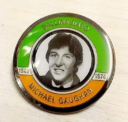 Michael Gaughan Hunger Striker Commemorative Badge Irish Republican Pin Badges