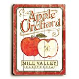 Apple Orchard (Personalized) 25''x34'' Planked Wood Sign Wall Decor Art