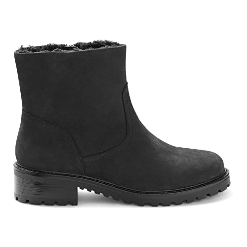 sneakers buy online best choice Marks & Spencer T026366W M&S Collection Wide Fit Black Fur ...