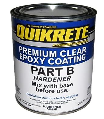 Quikrete 50035b Premium Epoxy Coating Part B Hardener 1 Quart