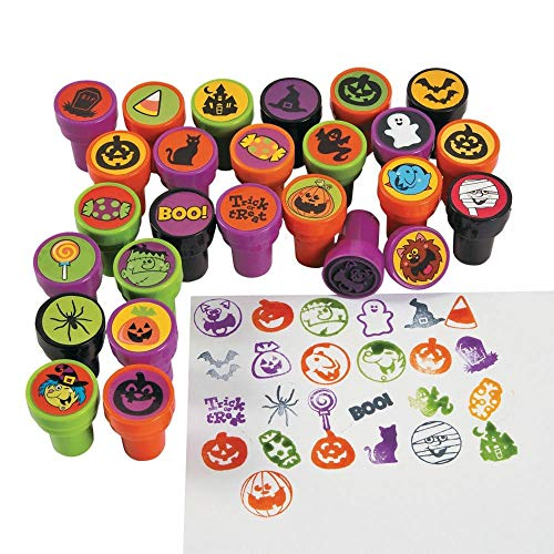 Plastic Halloween Stampers - 50 pc]()