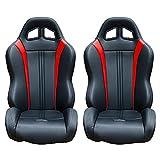 Polaris RZR Suspension Seats (Bucket Seats (Pair), Red)