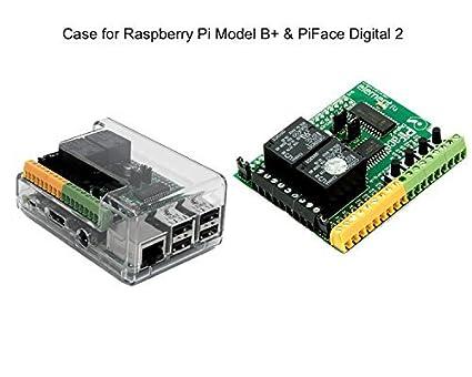 SB Components Clear transparent Case for Raspberry Pi 3 B//Pi 2 B//Pi Model B+