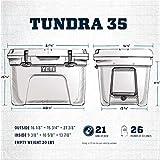 YETI Tundra 35 Cooler, White