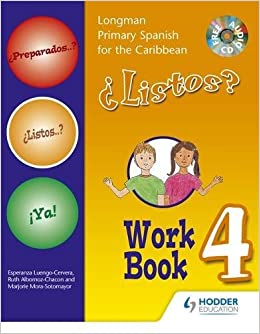 Amazon Com Preparados Listos Ya Primary Spanish Workbook 4