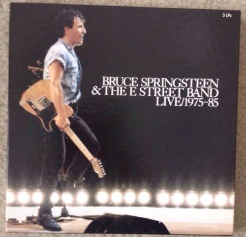 BRUCE SPRINGSTEEN E STREET Live/1975,1985 5 LP Set Vinyl VG++ Box VG++ lyrics
