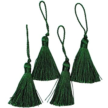 Expo Mini Fiber Tassel, Hunter Green, 4-Pack SM5970HGR