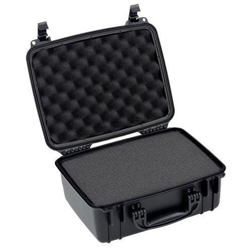 Seahorse SE520F Estuche de Plástico Resistente, Protector para Equipo Delicado, color Negro