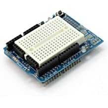 Wangdd22 UNO Proto Shield Prototype Expansion Board with SYB-170 Mini Breadboard Based for ARDUINO UNO ProtoShield