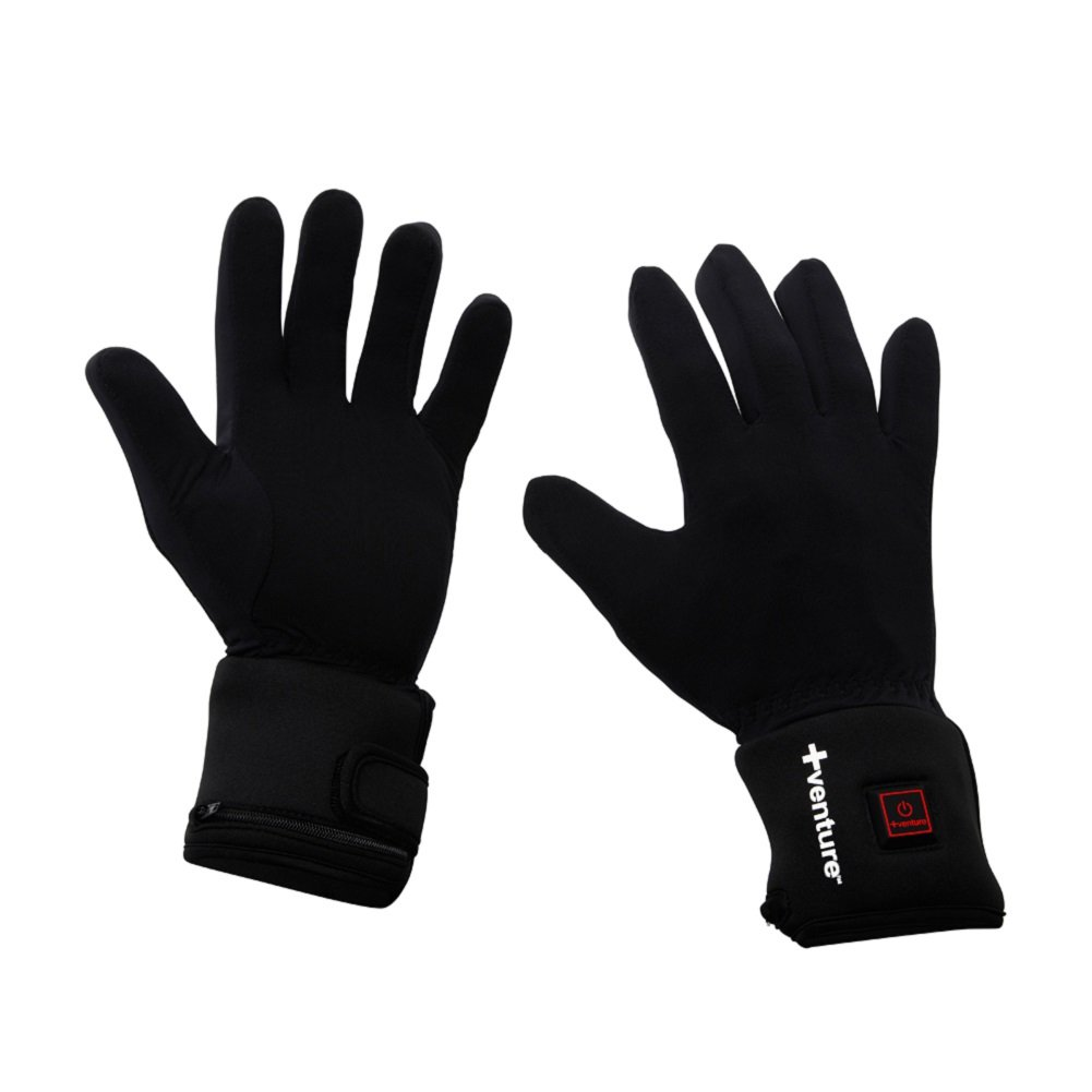 Venture Heat City Collection Heated Glove Liners (Black, XX-Large)