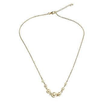 9-10mm White pearl pendant necklace 14k fashion gorgeous Charm Luxury