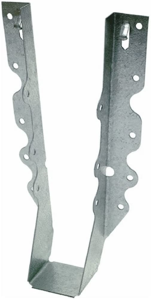 Simpson Strong-Tie Face Mount Hanger 7-13//16 H X 1-9//16W X 1-1//2 D For 2 X 10 20 Ga