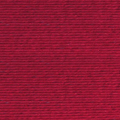 Lion Brand 5700-513 Martha Stewart Crafts Yarn, Cotton Hemp, Sour Cherry