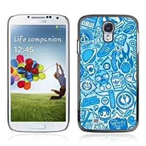 Designer Depo Hard Protection Case for Samsung Galaxy S4 / Cool Vintage Badass Pattern