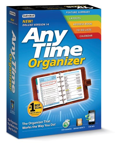 Individual Software Anytime Organizer Deluxe 14