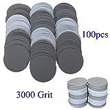 100pcs 50mm 3000 Grit Abrasive Sand Discs Sanding Polishing Pad Sandpaper