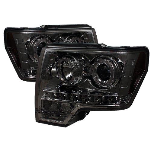 Spyder Auto 5010254 LED Halo Projector Headlights Chrome/Smoked