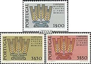 Portugal 935-937 (completa.edición.) 1963 el hambre (sellos para los coleccionistas)